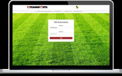 11teamsport ist Partner des TSV Schornbach