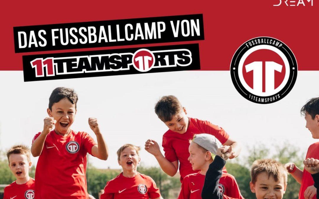 11Teamsports-Fußballcamp im August: Anmeldung jetzt möglich